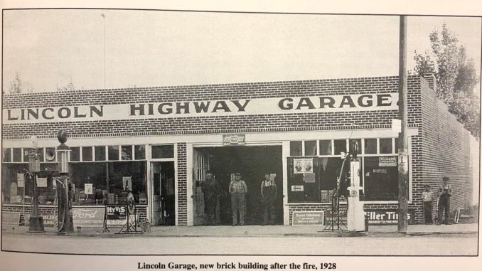 Cleveland Avenue was once part of the Lincoln Highway? Downtown Wellington, the teenage years