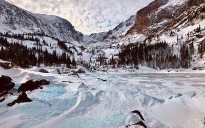 Snowshoeing in Northern Colorado