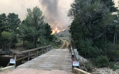 Poudre Canyon's History Suffers Losses in the Cameron Peak Fire