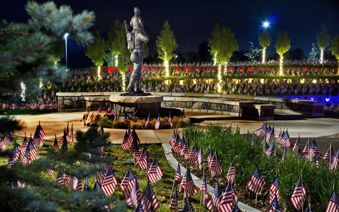 Memorial Day at the Veterans Plaza